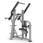 plate loaded lat pulldown